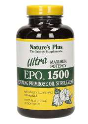 Natures Plus Ultra EPO 1500 (150mg GLA Nachtkerzenöl) 90 Softgels