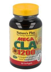 Natures Plus Mega CLA 1200mg 60 Softgels