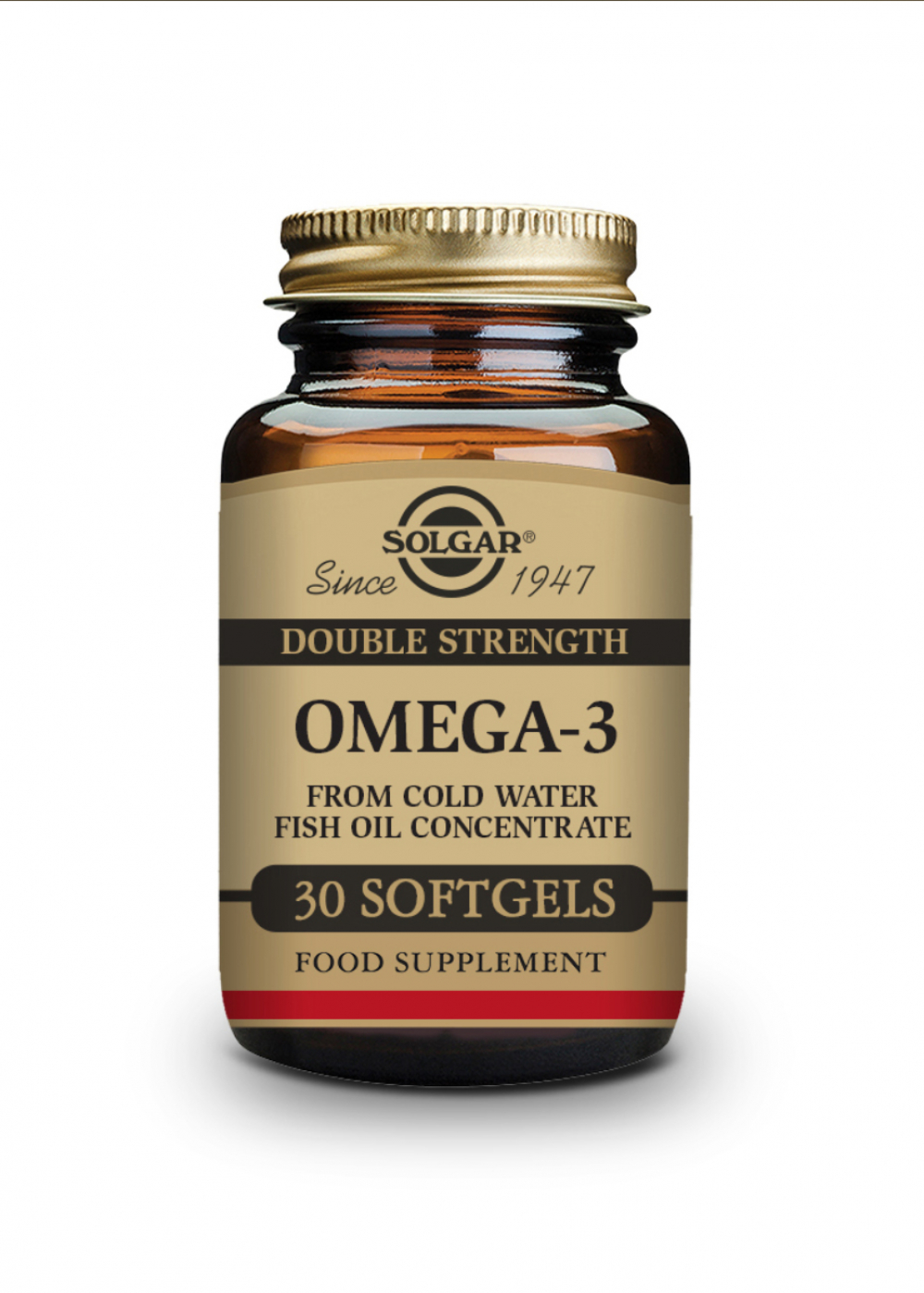 Solgar Double Strenght Omega-3 Fish Oil Concentrate 30 Softgels