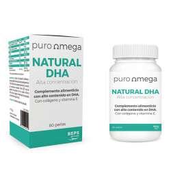 puro Omega Natural DHA hochkonzentriert (420mg) 60 Kapseln (52g)