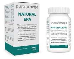 puro Omega Natural EPA Maximale Absorpton (TC) (475mg) 120 Kapseln (168g)
