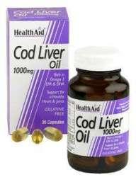 Health Aid Cod Liver Oil 1000mg (Dorsch-Lebertran) 30 Kapseln