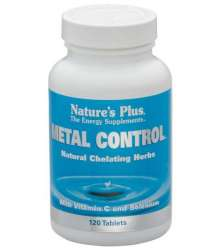 Natures Plus Metal Control 120 Tabletten (144,3g)