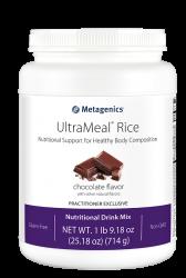 Metagenics UltraMeal® Rice Reisprotein-Shake Schokolade 714g