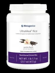 Metagenics UltraMeal® Rice Reisprotein-Shake Vanille 672g