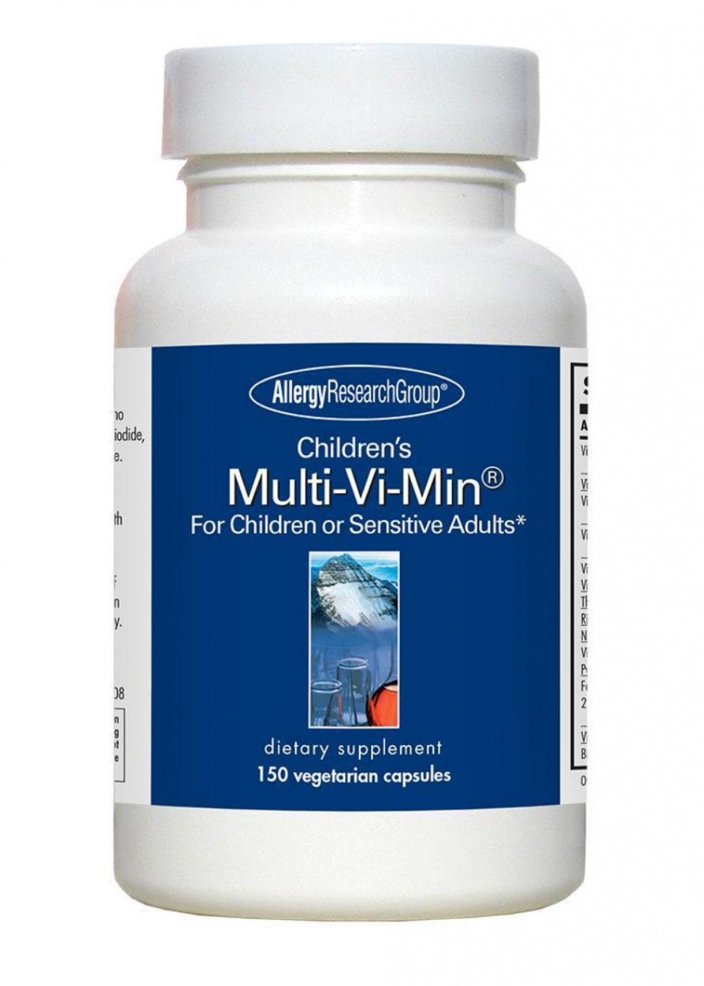 Allergy Research Group Childrens Multi-Vi-Min 150 vegetarische Kapseln