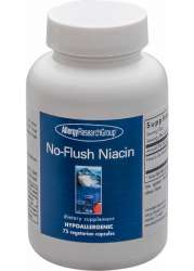 Allergy Research Group No-Flush Niacin (Inositol Hexanicotinat)  75 veg. Kapseln