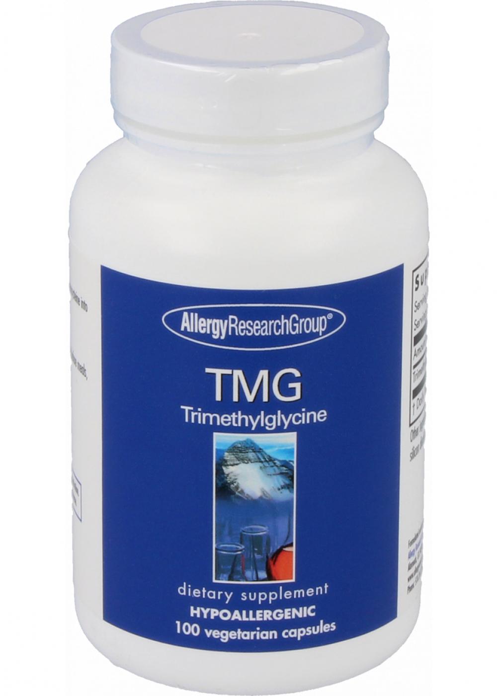 Allergy Research Group TMG Trimethylglycine (Betain) 100 veg. Kapseln