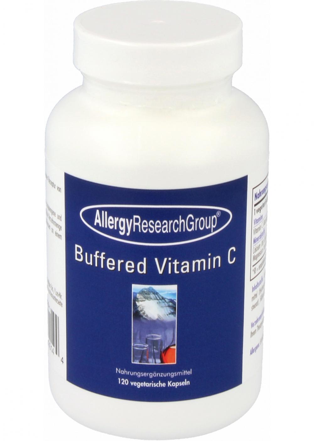 Allergy Research Group Buffered Vitamin C (aus Mais) 120 veg. Kapseln (240g)