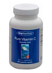Allergy Research Group Pure Vitamin C (aus Mais) 100 veg. Kapseln
