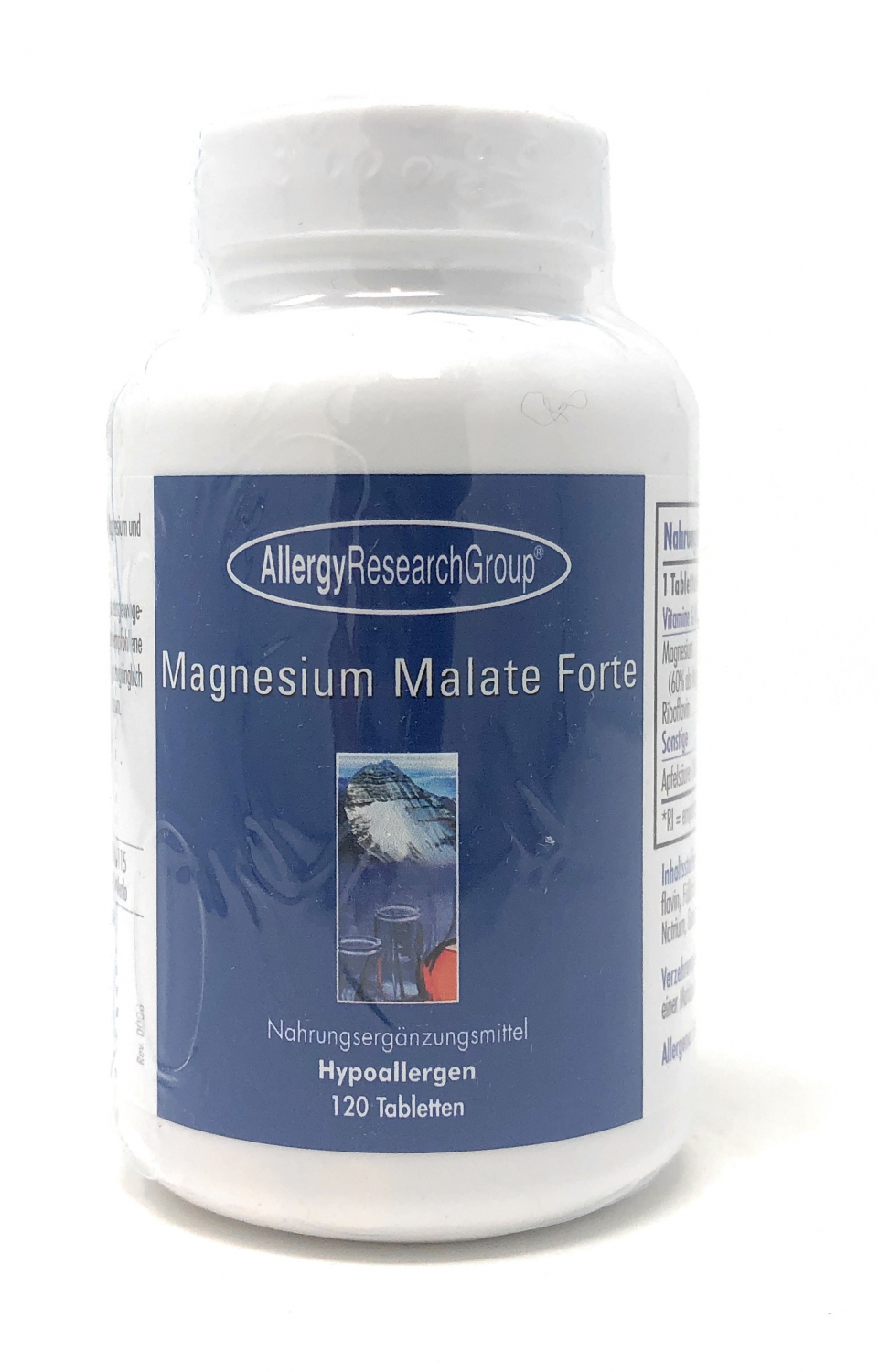 Allergy Research Magnesium Malate Forte 120 veg. Tabletten