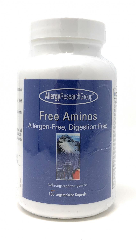 Allergy Research Free Aminos (Aminosäure-Komplex) 100 veg. Kapseln