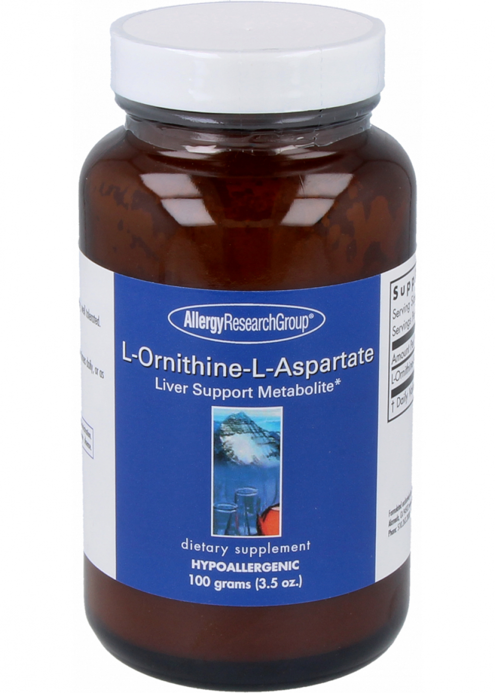 Allergy Research Group L-Ornithine-L-Aspartate 100g Pulver