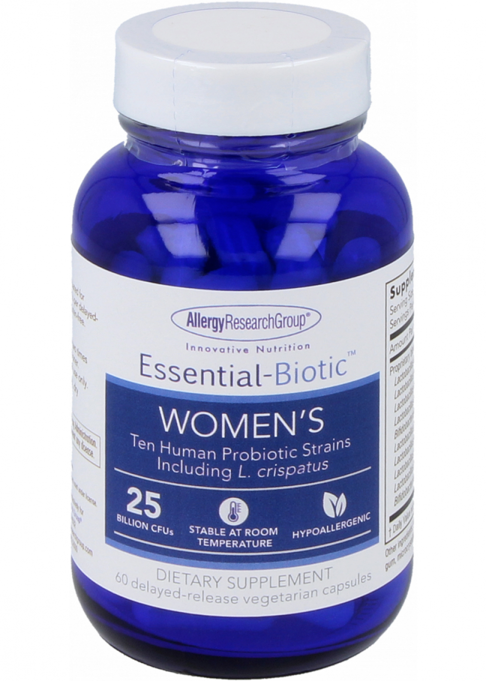 Allergy Research Group Essential-Biotic Womens 60 veg. Kapseln
