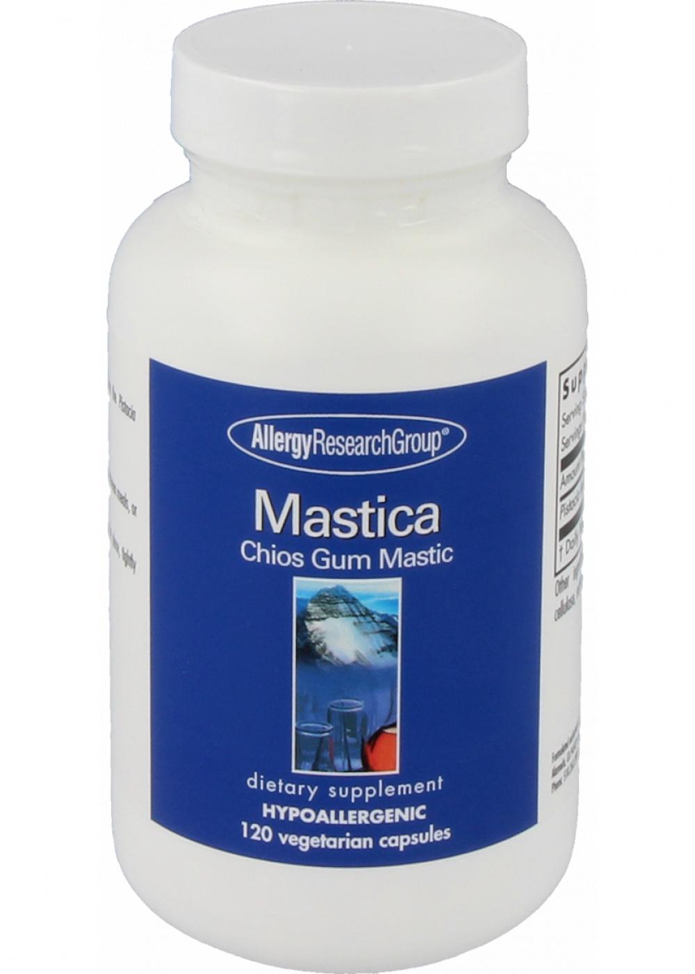 Allergy Research Group Mastic Gum (Pistazienharz) 120 veg. Kapseln