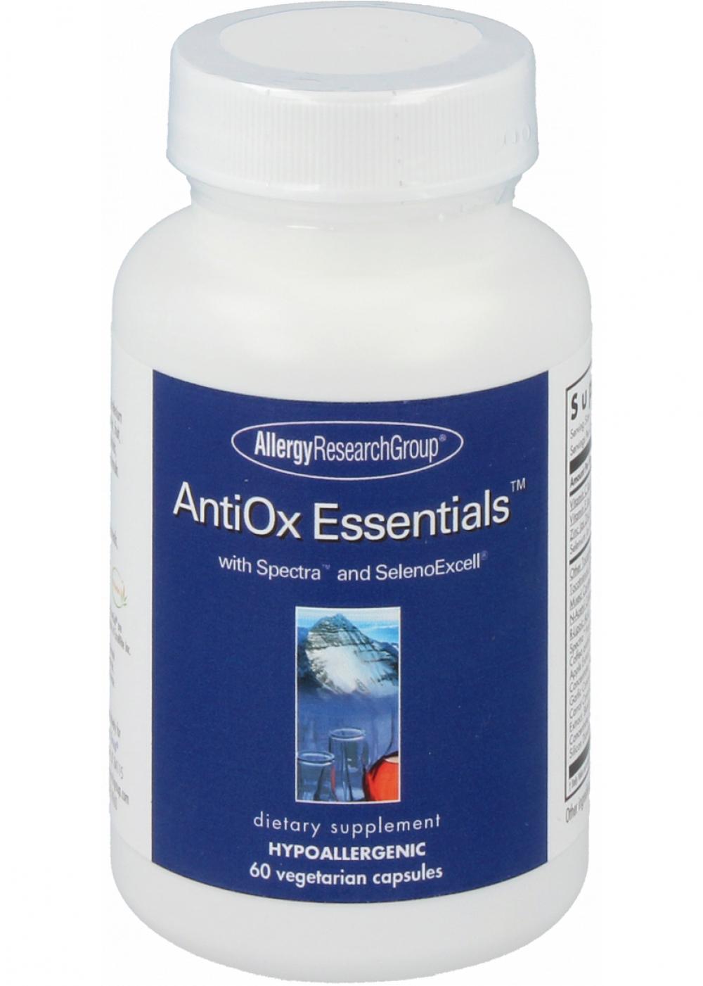 Allergy Research Group AntiOx Essentials 60 veg. Kaspeln