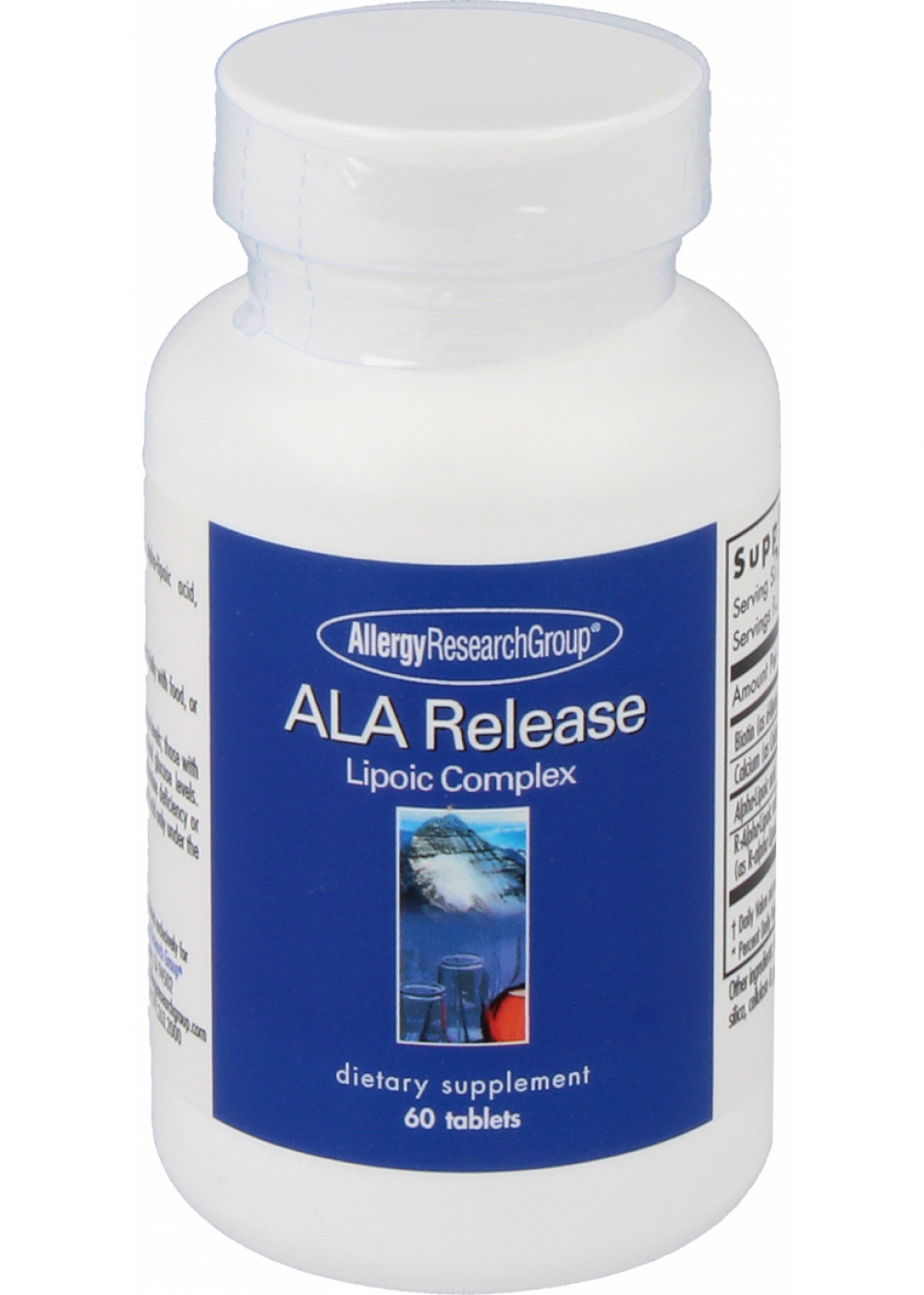 Allergy Research Group ALA Release [Alpha-Liponsäure] 60 Tabletten