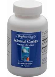Allergy Research Group Adrenal Cortex Natural Glandular 100 veg. Kapseln