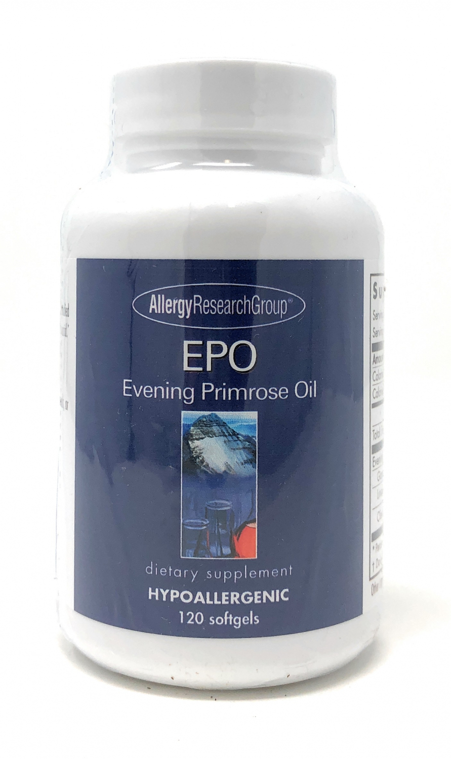 Allergy Research Group EPO Evening Primose Oil 120 Softgels