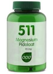 AOV 511 Magnesium Pidolaat (Magnesium L-Pidolat liefert 35mg Mg) 90 veg. Kapseln