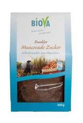 Biova Gourmetzucker Dunkler Muscovado Zucker aus Mauritius 300g