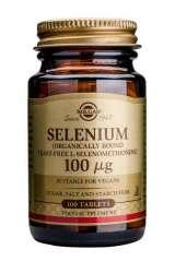 Solgar Selenium 100mcg [hefefreies L-Selenomethionin] 100 Tabletten (vegan)