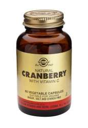 Natural Cranberry with Vitamin C 60 veg. Kapseln SO (vegan)
