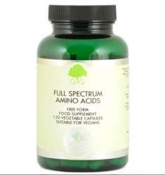 G&G Vitamins Full Spectrum Amino Acids [Aminosäure-Komplex] 120 veg. Kapseln (104,4g) (vegan)