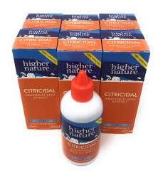 Higher Nature Citricidal Bio-Grapefruitkern-Extrakt (vegan) 6 x 100ml Flasche (vegan) 6er Pack