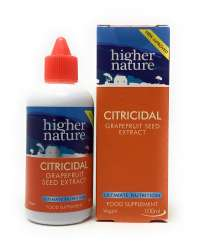 Higher Nature Citricidal Bio-Grapefruitkern-Extrakt (vegan) 100ml Flasche (vegan)