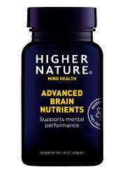 Higher Nature Advanced Brain Nutrients 180 veg. Kapseln (vegan)