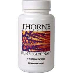 Thorne Iron Bisglycinate (Eisen 25mg) 60 veg. Kapseln