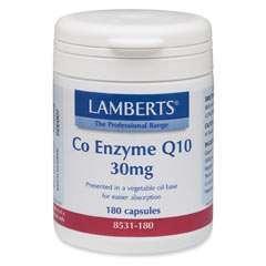 Co-Enzyme Q10 30 mg 180 veg. Kapseln LB (bisher 82763)