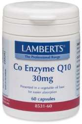 Lamberts Co-Enzyme Q10 30 60 veg. Kapseln