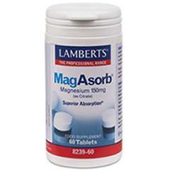 Lamberts MagAsorb® (150mg Magnesium als Citrat) 60 Tabletten