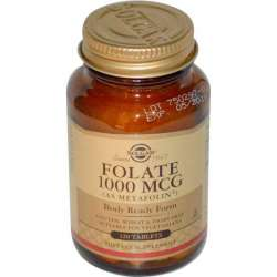Folate 1000 µg (as Metafolin®) 120 Tabletten SO