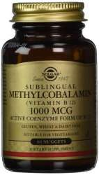 Methylcobalamin (Vitamin B12) 1000µg 60 Nuggets SO (vegan)