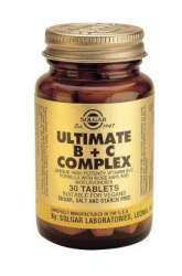 Solgar Ultimate B + C Complex 30 Tabletten (vegan)