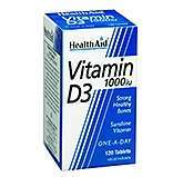 Health Aid Vitamin D3 1000iu 120 Tabletten