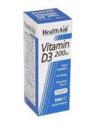 HealthAid Vitamin D3 200 IE Tropfen 15ml