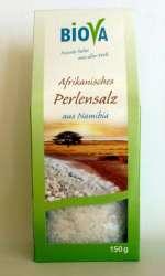 Biova Gourmetsalz Afrikanisches Perlensalz 150g