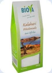 Biova Gourmetsalz Kalahari Wüstensalz fein 200g Packung