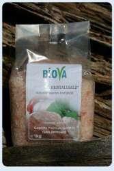 Biova Gourmetsalz Kristallsalz* Granulat aus Pakistan 1kg PE-Beutel