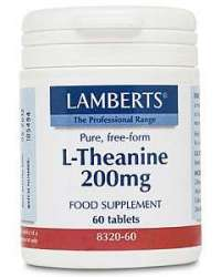 Lamberts L-Theanine / L-Theanin 200mg 60 Tabletten