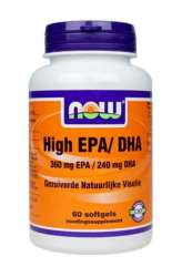 NOW Foods Omega 3 Plus 360mg EPA/240mg DHA (High EPA/DHA) 60 Softgels