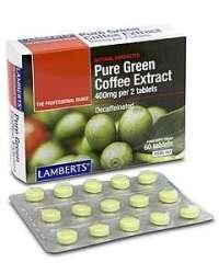 Pure Green Coffee Extract (grüner Kaffee) 60 Tabletten LB
