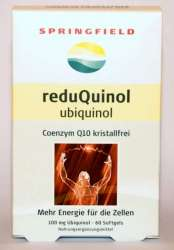 ReduQuinol 100 mg Ubiquinol CoQ10 60 Softgels SF