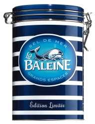 La Baleine Grobes Meersalz aus Frankreich in der Wal-Motivdose - reines Sel de Mer aus der Camargue 1000g