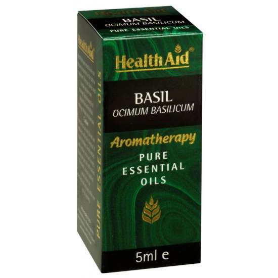 Basil Oil Basilikumöl (Ocimum basilicum) 5ml ätherisches Öl HA
