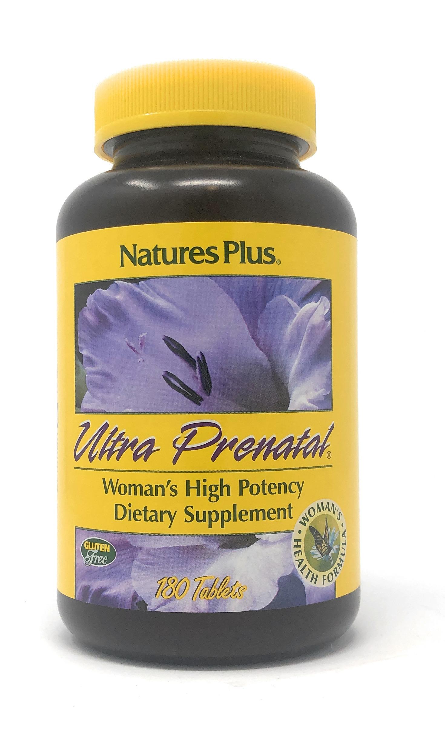Natures Plus Ultra Prenatal® 180 Tabletten (464,6g)